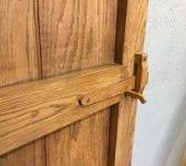 Solid Oak Reclaimed Ledge & Brace Door