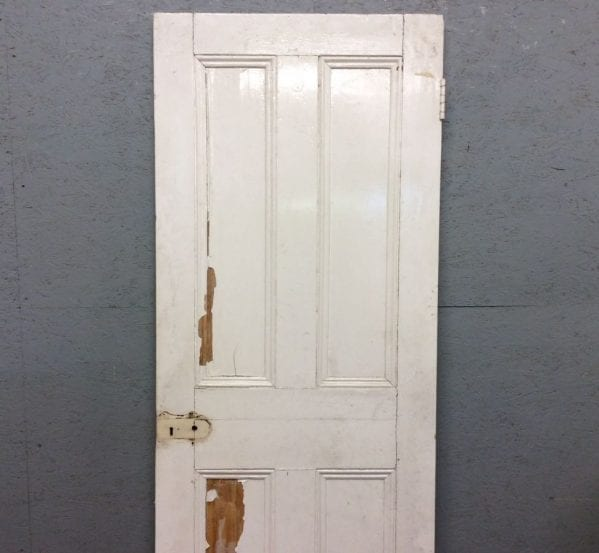 Tat White 4 Panelled Door