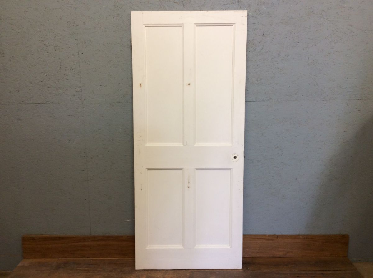 White Short 4 Panel Door