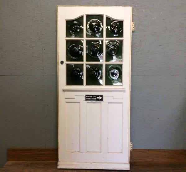 Fancy Front Green Swirl Front Door (Perfect Pair)