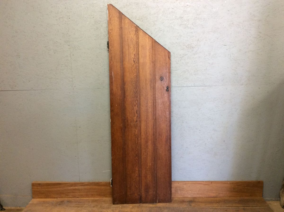Oak Under-stair Cupboard