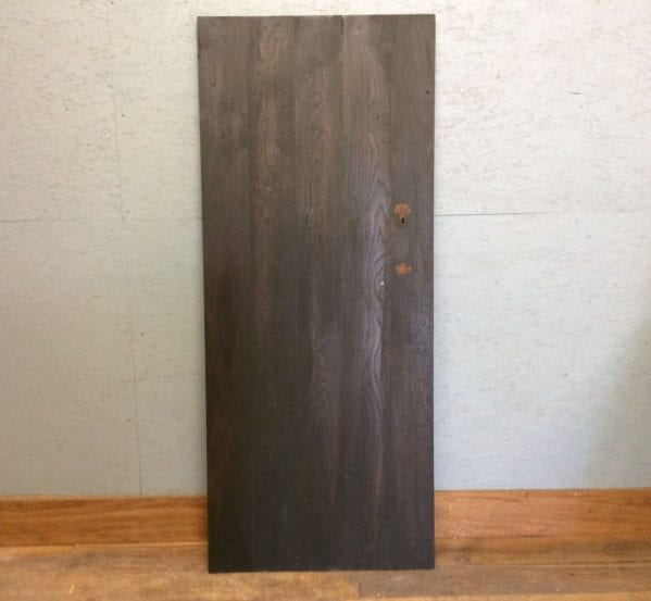 Stained Oak Ledge & Brace Door