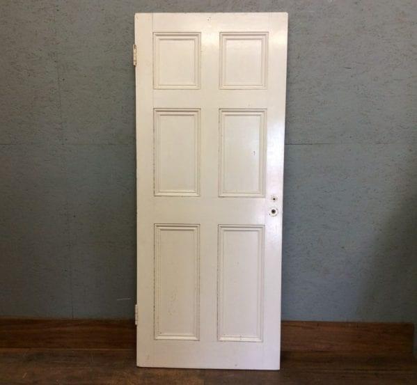 White Short 6 Panel Door