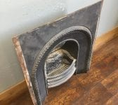 Beading Detail Cast Iron Fire Insert