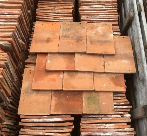 Orange Clay Hanging Tiles