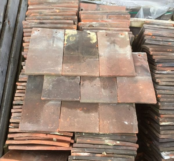 Dark Red Sussex Peg Tiles