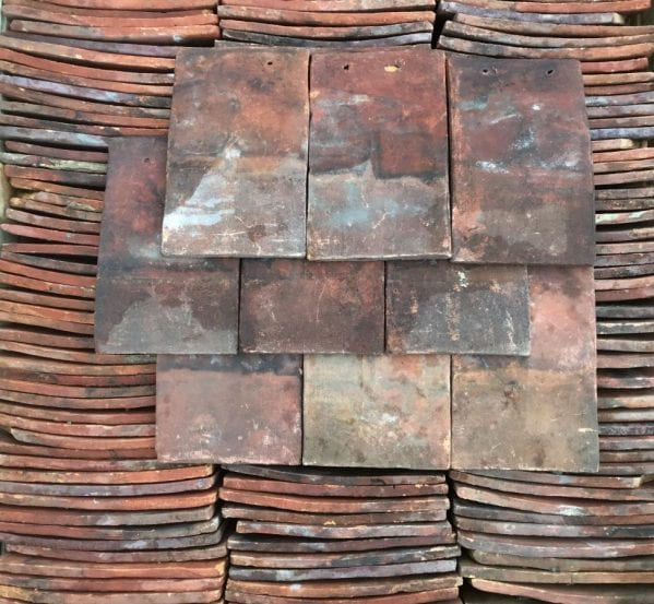 Handmade Red Peg Tiles