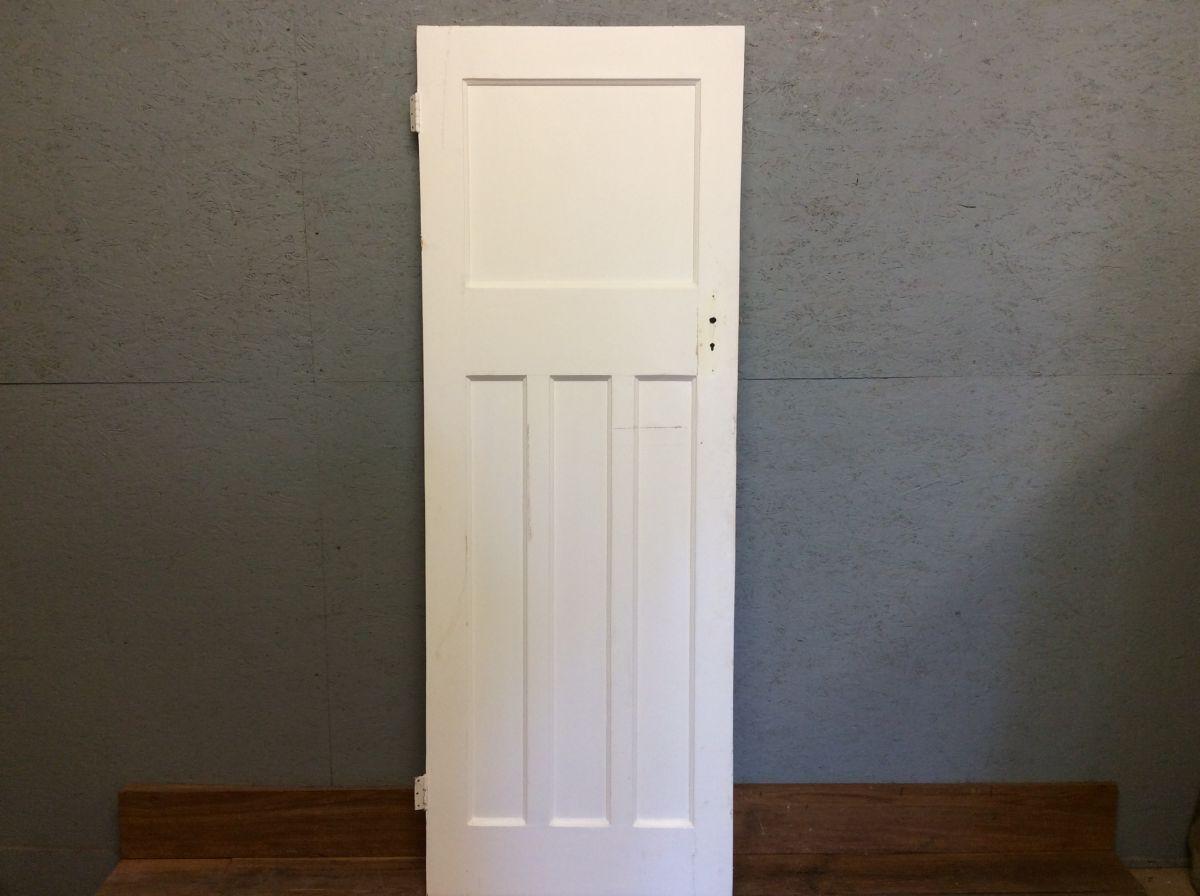 Very Nice Pure White 1 over 3 Door