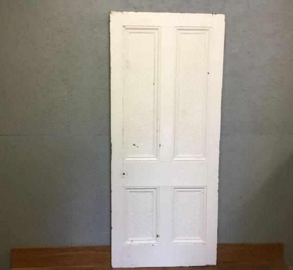 Grand Floral 4 Panelled Door