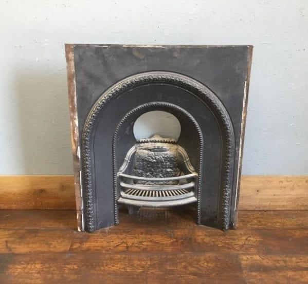 Beading Detail Cast Iron Fire Insert