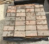 Wire Cut Dark Block Paving Bricks