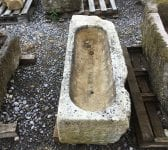 Shallow Carved Reclaimed Trough