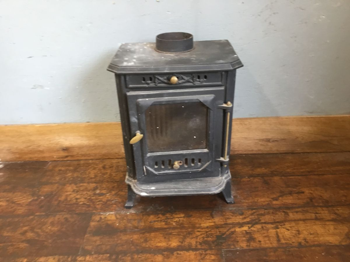 Reclaimed Small Log Burner