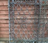 Large Three Section Gate & Railings