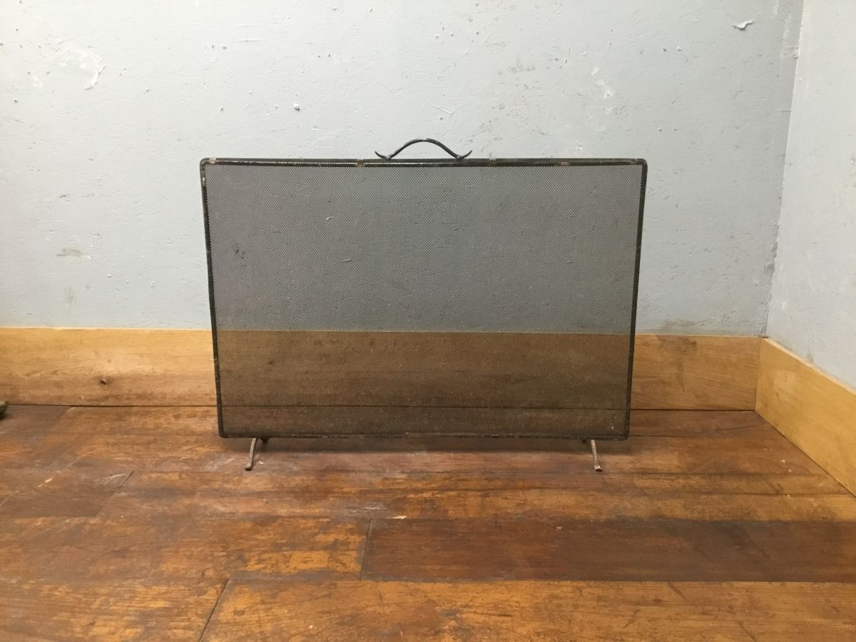 Wrought Iron Fire Screen