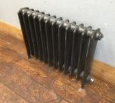 12 Section Grey Finish School Radiator
