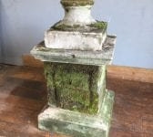 Large Reconstituted Stone Plinth