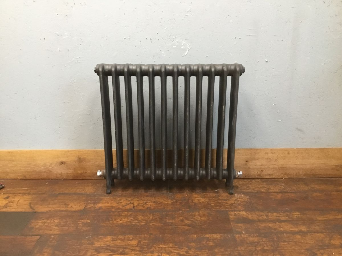 Grey 12 Section Old School Radiator
