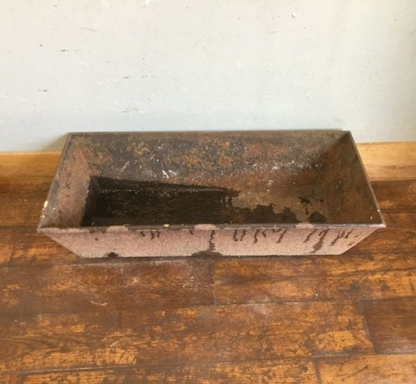 Rectangular Cast Iron Trough