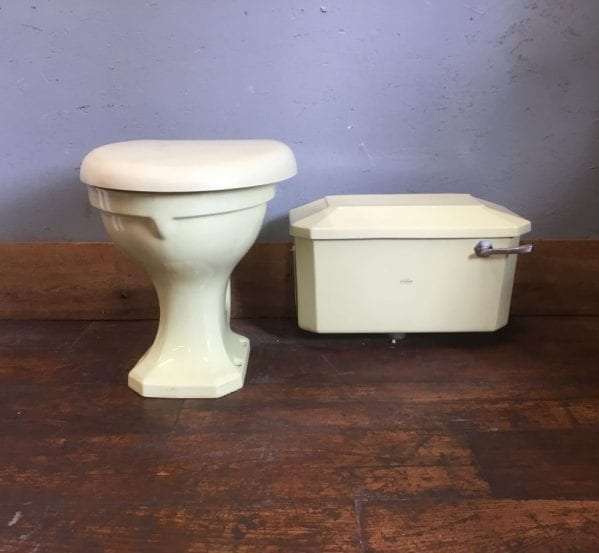 Pale Green Royal Doulton Toilet & Cistern