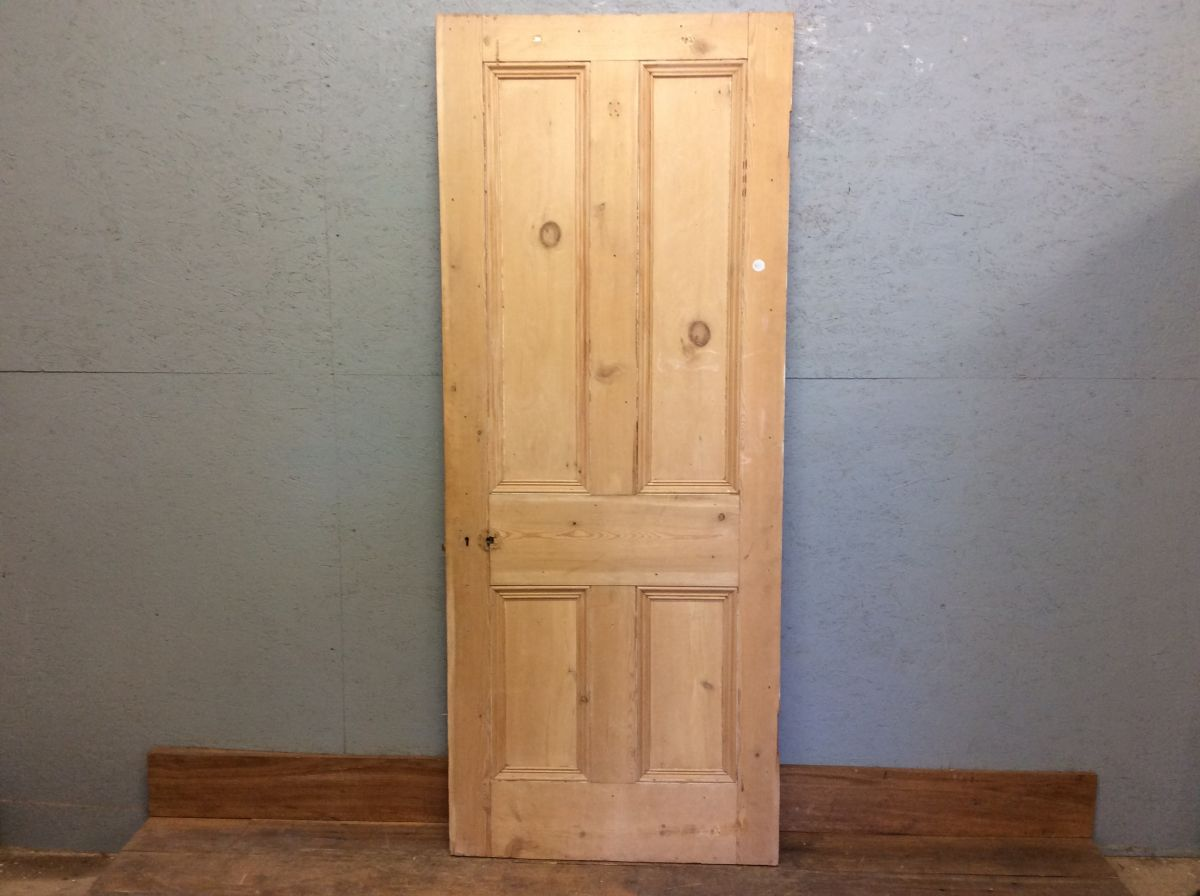 Wide Stripped Authentic Door