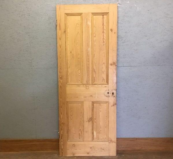Stripped Four Pan Door -