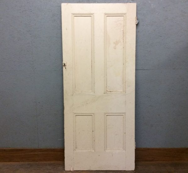 Old Wide 4 Panelled Door