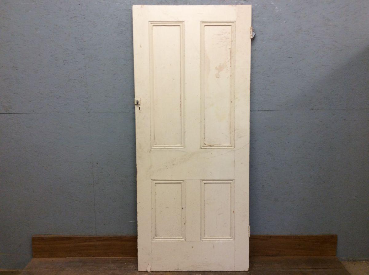 Old Wide 4 Panelled Door