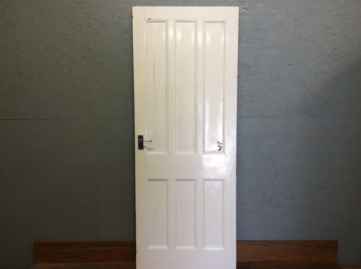 White Painted 3 Over 3 Door