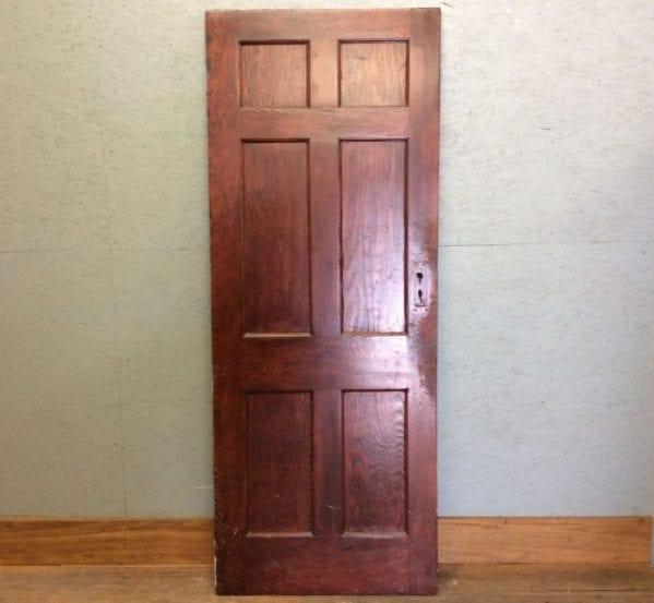 Dark Wood Rosse 6 Panel Door