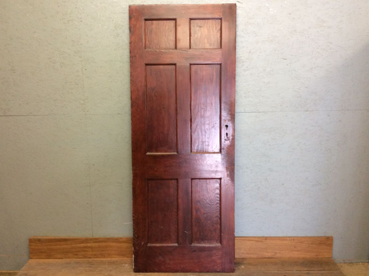 Dark Wood Rosse 6 Panel Door