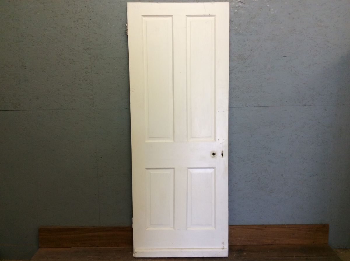 Nice White 4 Panelled Door
