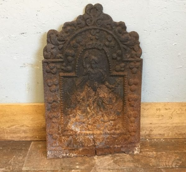 Cast Iron Fire Back