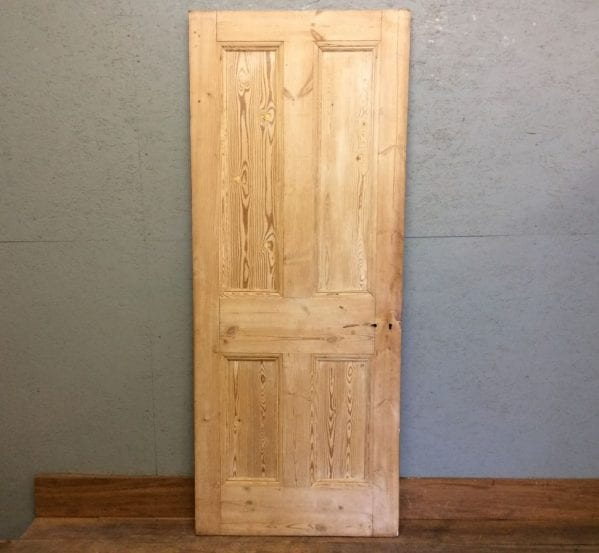 4 Panel Stripped Pine Door