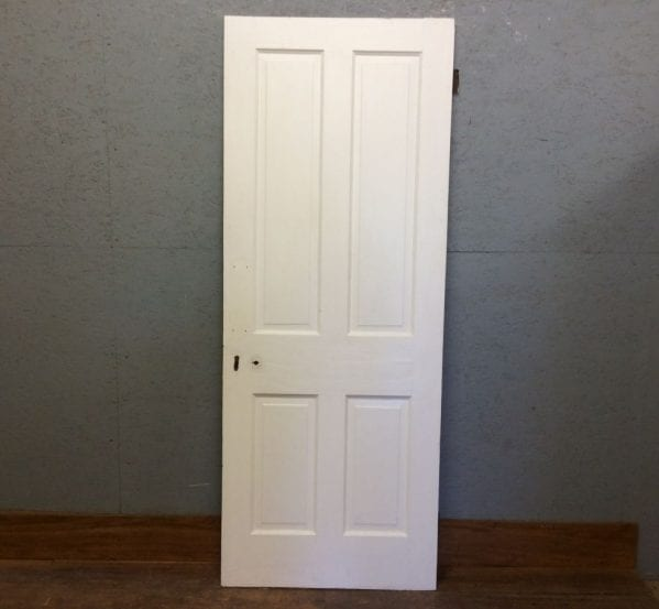 Nice White Four Panelled Door