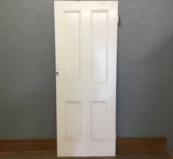 White Four Pan Door
