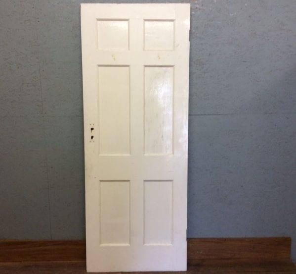 Sml White 6 Panelled Door