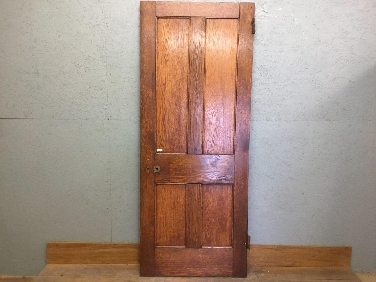Oak 4 Panelled Door