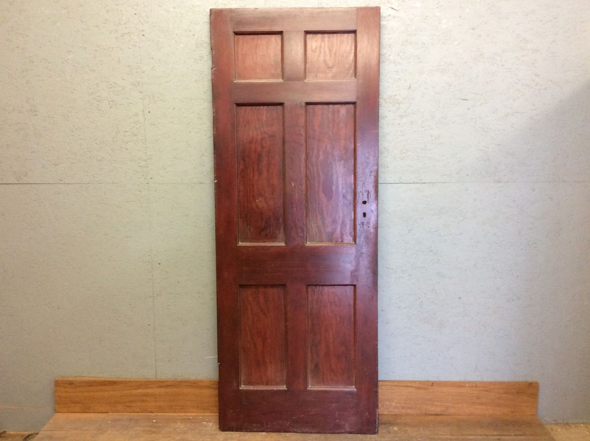 Mahogony Rose 6 Panelled DOor