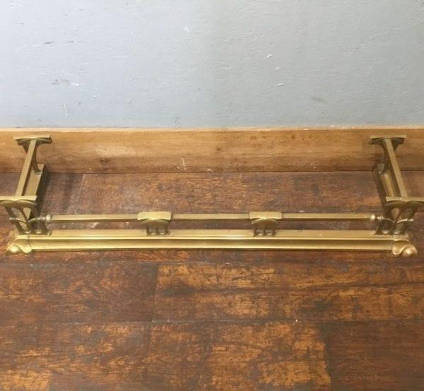 Art Nouveau Brass Fire Fender