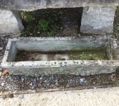 Long Rectangular Stone Planter
