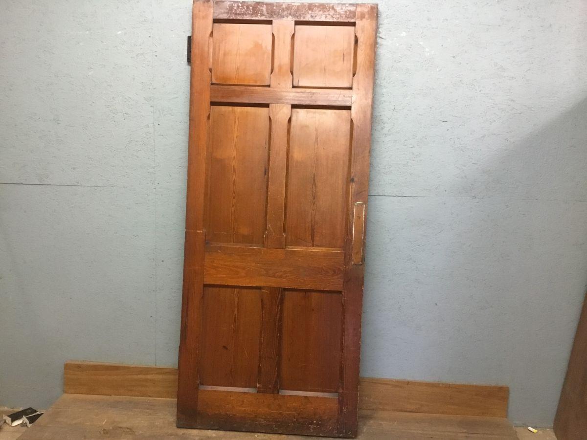Large Chapel 6 Panel Door (Pitch Pine)