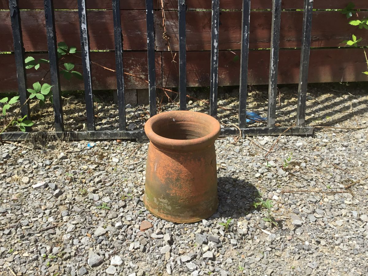 Baige Cannon Head Chimney Pot