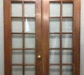Tall Oak Glazed Double Doors