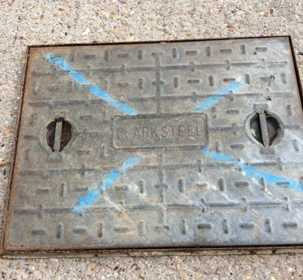 Light Weight Modern Man Hole Cover