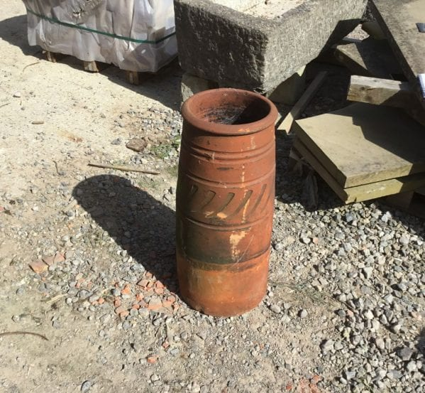 Curvey Nice Terracotta Chimney Pot