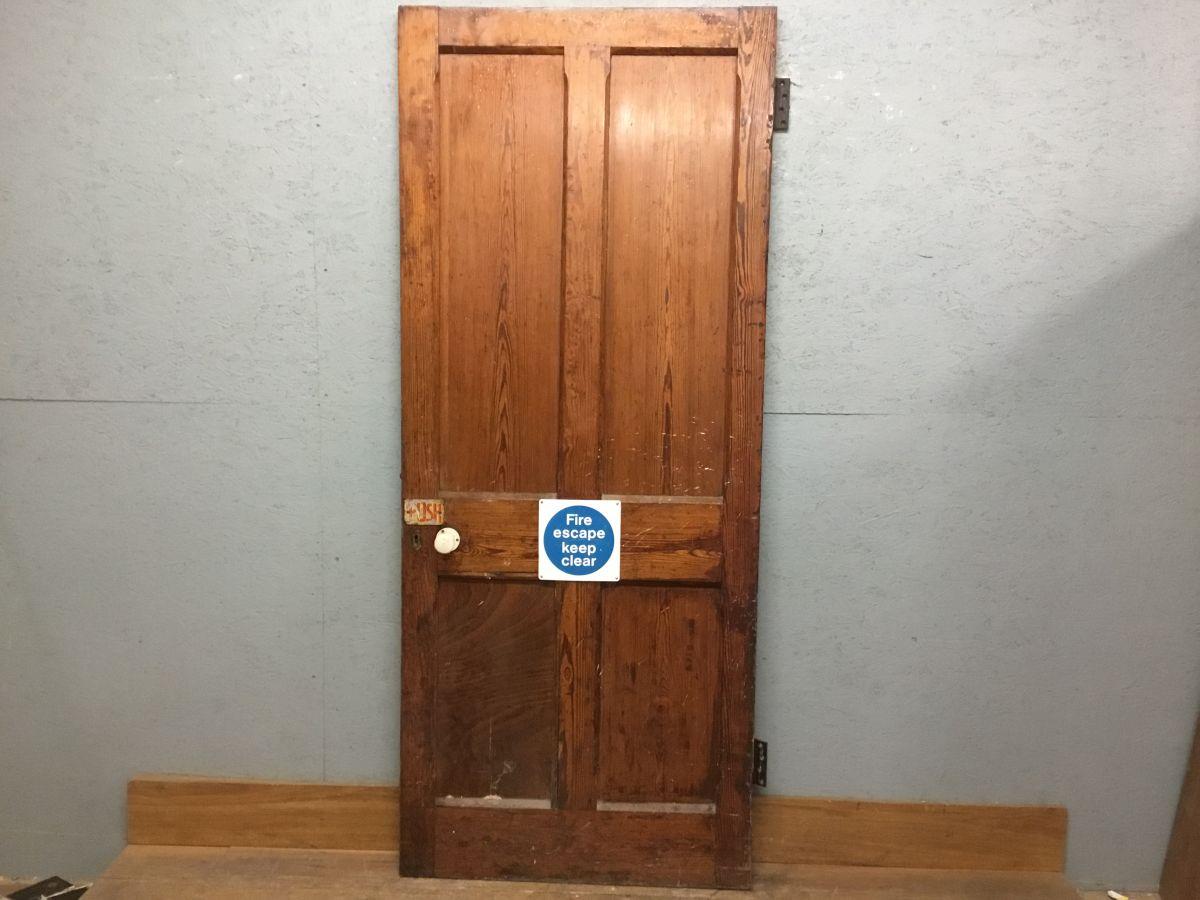 Pitch Pine 4 Panel Door