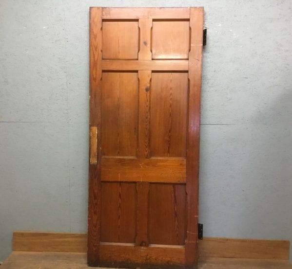 Gravesend Chapel 6 Panel Door (Pitch Pine)