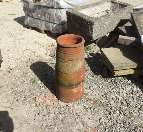 Curvey Tall Terracotta Chimney Pot