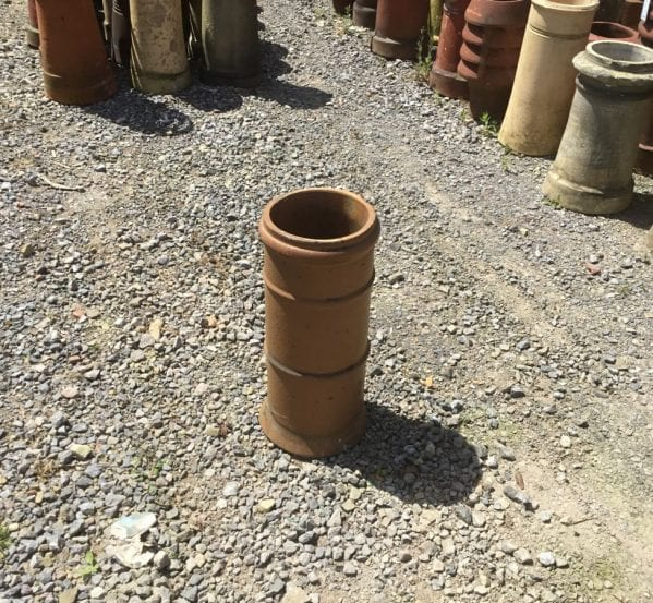 Terracotta Straight 3 Lipped Chim Pot